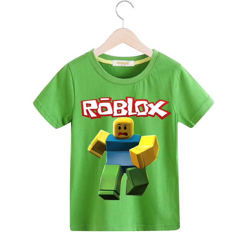 Boy Roblox T-shirt Girls Hot Game Tee Tops Clothes For Children Clothing Baby 3D Funny T Shirt Kids Casual Tshirt Costume TX098 Футболка