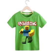 ba777648323a0 Garçon Roblox T-shirt Filles Chaude Jeu Tee Tops Vêtements Pour Enfants  Vêtements Bébé 3D Drôle T Shirt Enfants Occasionnels T-s.
