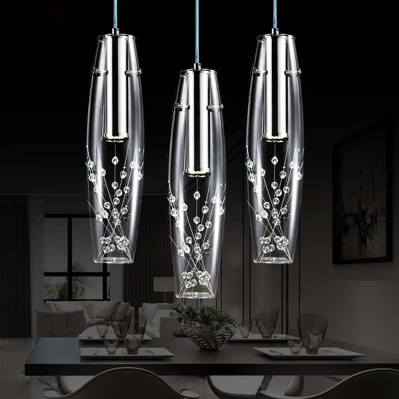 Modern Crystal Pendant Lights LED Pendant Lamps Dining Room Living Room luminaria Hanglamps nordic Lamp Light Fixtures nordic modern 10 head pendant light creative steel spider lamps unfoldable living room dining room post modern toolery led lamp page 2