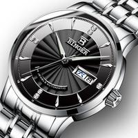 Switzerland BINGER Watch Men Luxury Brand Japan NH35A Auto Self wind Mechanical Men's Watches Sapphire reloj hombre B1176G 2