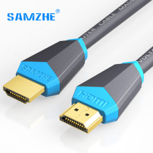 SAMZHE HDMI 2.0 Cable Gold-plated 4K*2K 60Hz UHD HDMI Cable 0.75/1/1.5/2/3/5/8/10m or HD TV LCD Laptop PS3 Projector Computer