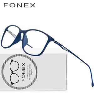 a8693f060 TR90 Titanium Optical Óculos de Armação Homens 2018 Nova Praça Cheia Óculos  de Prescrição Óculos de