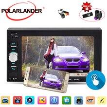 2 din autoradio phone screen mirroring 6.2 inch Bluetooth car radio steering wheel control with rear camera 9 languages mp5 mp4