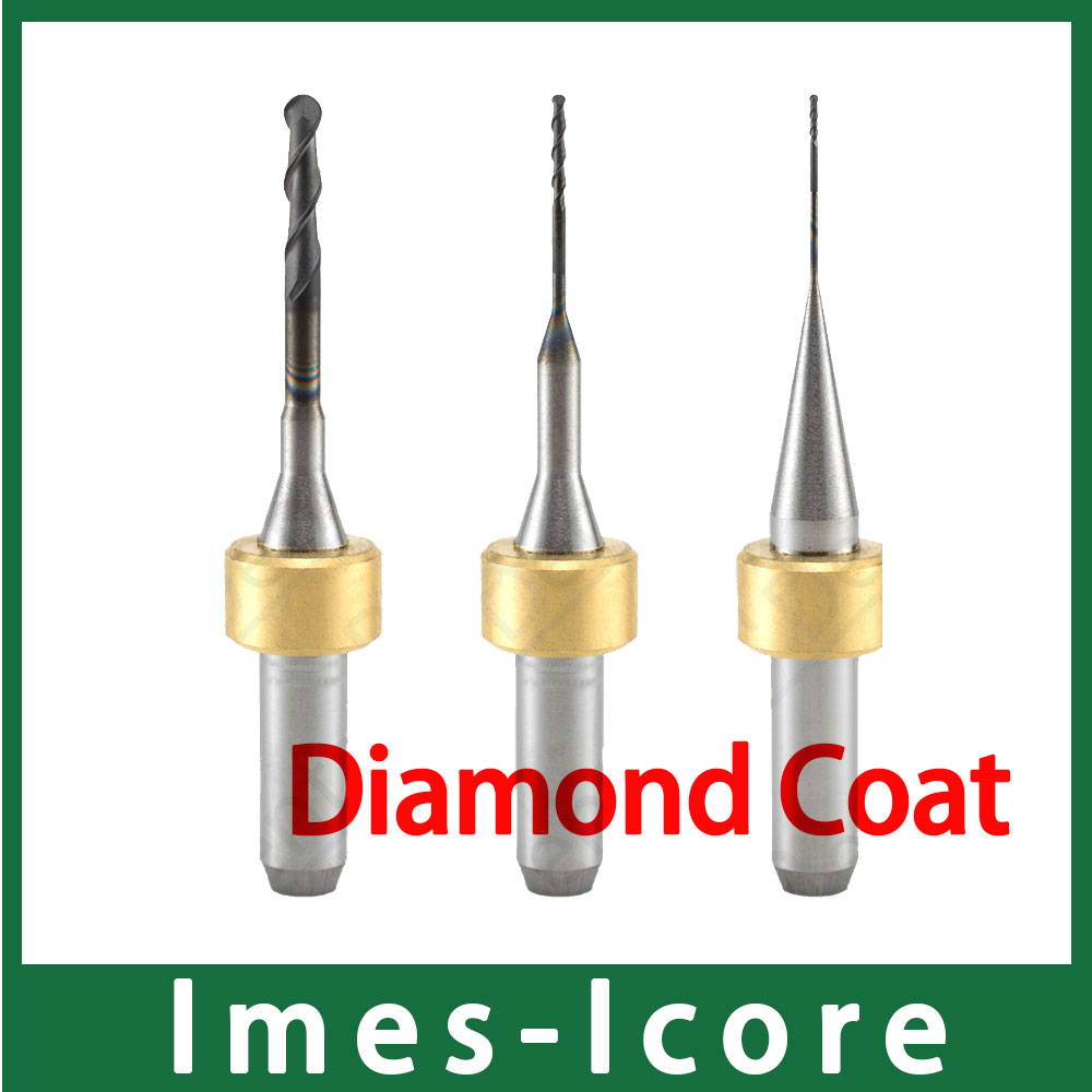 New High Quality Imes-Icore Milling Bur Diamond Coat for Zirconia Milling Long Time Service 5pcs 2 0mm dental imes icore cad cam diamond coated burs