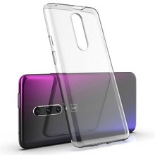Sample Transparent Phone Back Cover For Oneplus 7 7 pro Ultra Thin Soft Clear TPU Protective Back Case Cover For Oneplus 7 Pro
