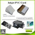 Dupla lados glossy à prova d' água nenhum risco r290 t50 impressora de jato de tinta cartão de pvc para 1800 r330 r330 230 pcs frete grátis