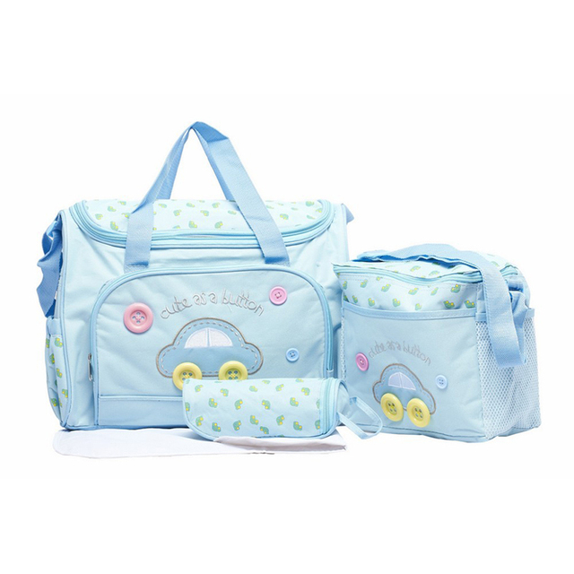 Baby Diaper Bag Super Large Capacity Multifunctional Nappy Bag Changing Mat  Bags Mommy Bag Bolsa Maternidade Baby Care Product