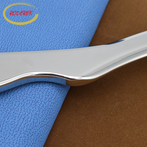 Image 4 - Stainless Steel Guasha Board Long size Gua Sha Tool Body Healthcare Massage Tool For Slimming