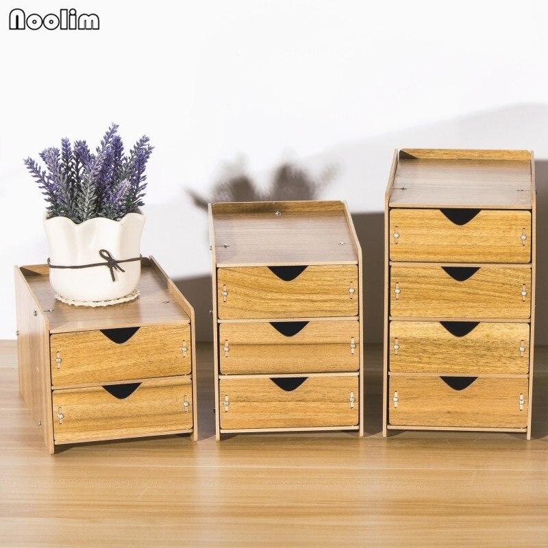 Noolim Drawer Organizer Box Wooden