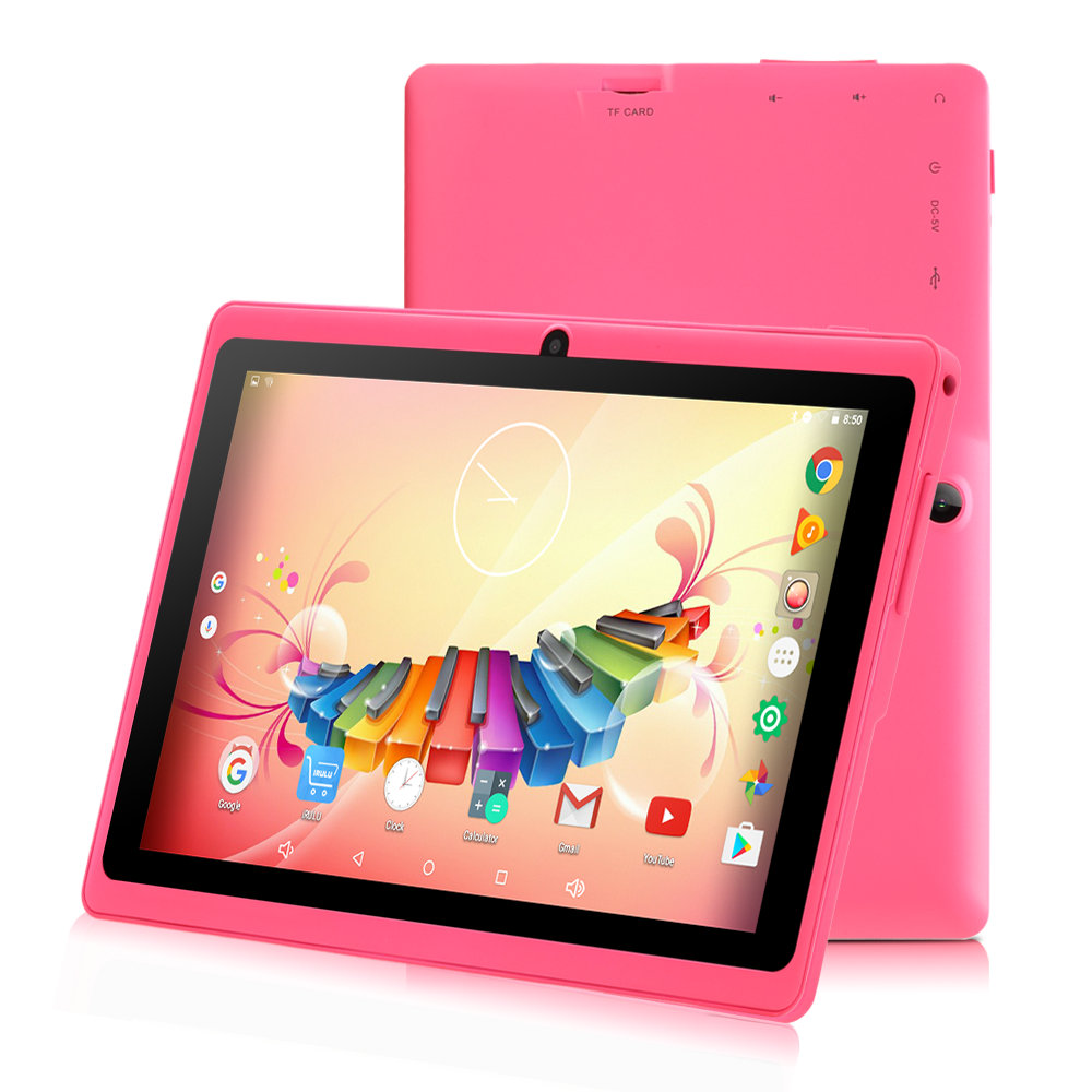 IRULU 7 Inch Tablet Google Android 8.1 Quad Core Dual Camera Wi-Fi, Bluetooth 1GB/8GB Play Store Skype