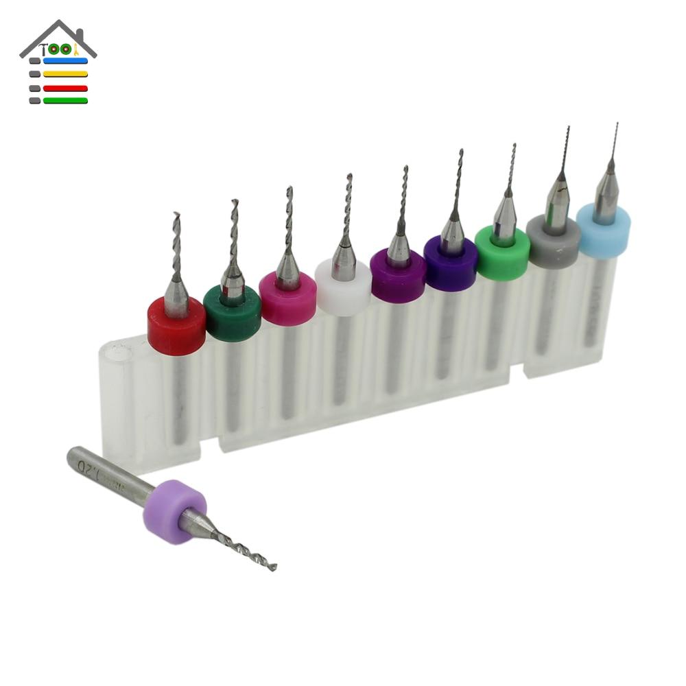 toolSet Pcb 03mm12mm Print Circuit Board Carbide Micro Drill Bits Tool #7