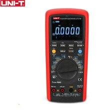 UNI T UT171B endüstriyel True RMS dijital multimetreler giriş 60K sayım direnç test aleti orijinal ölçü EBTN LCD USbbB