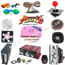 1300 in 1 DIY jamma arcade machine kit box 6 game board multigame card HDMI VGA outp for arcade cabinet parts