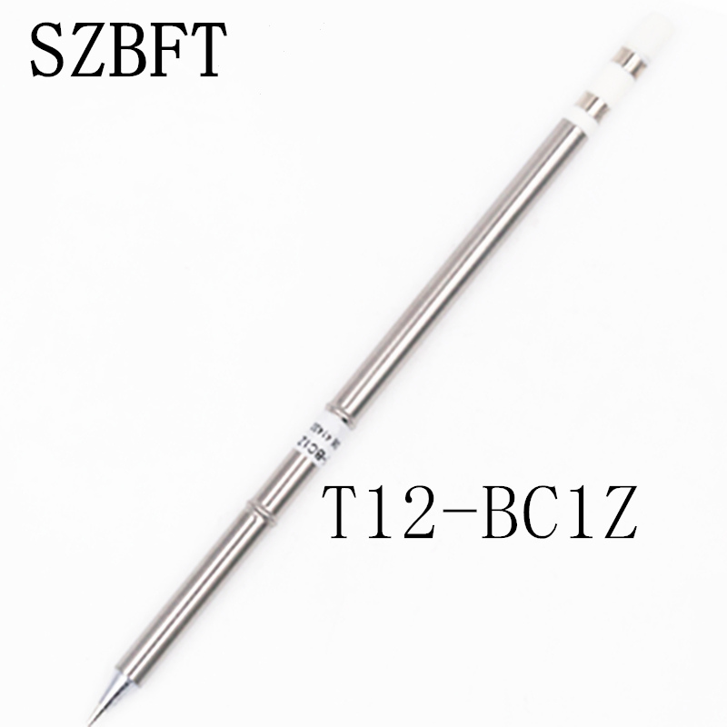 SZBFT T12-BC1Z BC2Z BC3Z BC4Z BZ B2Z BCF1Z Soldering Iron Tips For Hakko Soldering Rework Station FX-951 FX-952 Free Shipping
