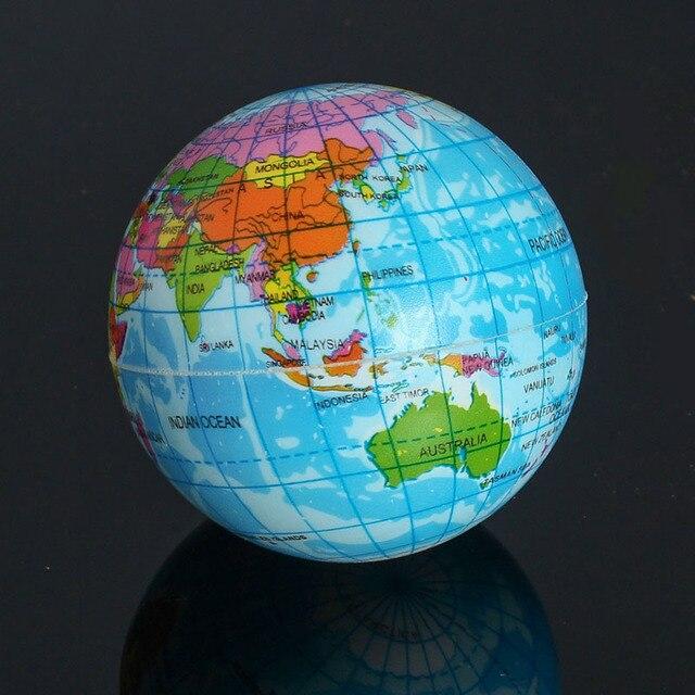Mini Foam World Globe Teach Education Earth Atlas ...
