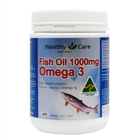 Australia Original HC fish oil 1000 mg omega 3*400 pcs Free shipping