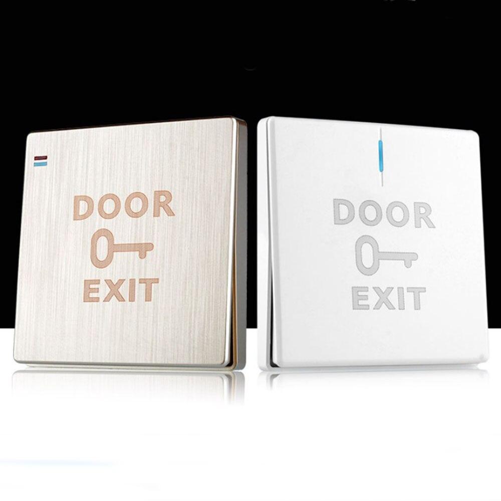 Кнопка выхода двери отпустите кнопочный переключатель для системы контроля доступа электронный дверной замок
