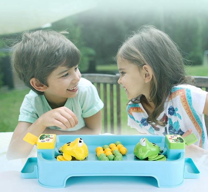 Beiens del 2019 Juegos de la familia codicioso Rana comiendo de juguetes chico amplio juegos de juguetes educativos chico regalos interactivo de la mesa de escritorio juego