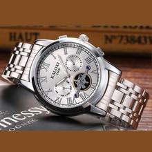 KALOXI New relojes hombre CLOCK MAN Waterproof Quartz Movement Casual watch men