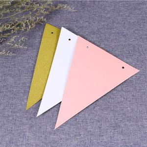 Image 2 - 3 Meters Babys Birthday Banners Multicolor Glitter Pennant Flags Garland Streamer Baby Room Nursery Hanging Decor