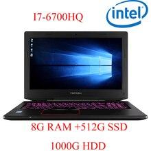 """P6-09 8G DDR4 RAM 512G SSD 1000G HDD i7 6700HQ AMD Radeon RX560 NVIDIA GeForce 4G 15.6 gaming laptop"""""""