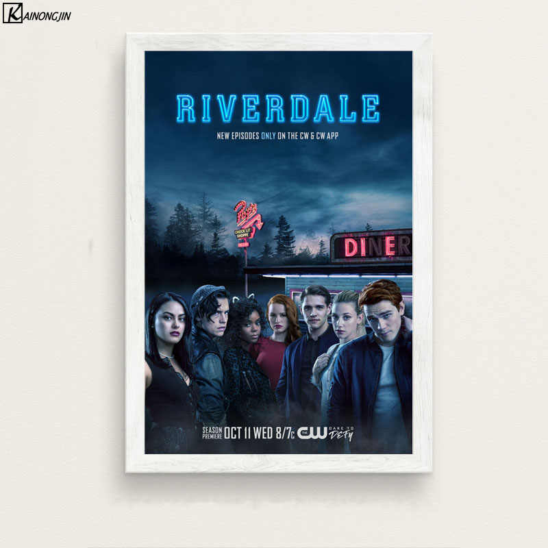 Posters and Prints Riverdale Poster Season 3 Hot TV Series Show Canvas Painting Wall Art Picture for Living Room Home Decoration