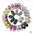 35 cores Nova cor mista macio Mocassins Bebê criança meninos meninas franja de Couro PU Primeiros Caminhantes sapatos da criança infantis
