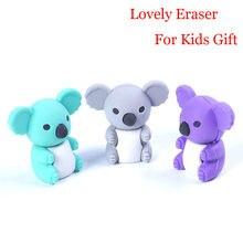 1Pc creativo de dibujos animados lindo animal Koala de goma/papelería: artículos para los niños de los estudiantes/regalo/juguete de goma suministro de papelería