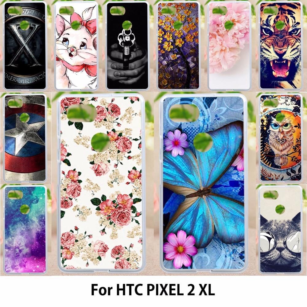 TAOYUNXI Cases For HTC Pixel XL 2 Google Pixel XL2 Soft Silicone Cover Phone Case for Google Pixel XL2