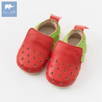 DB6533 Dave Bella Baby Girls Soft First Walkers Baby Genuine Leather Shoes