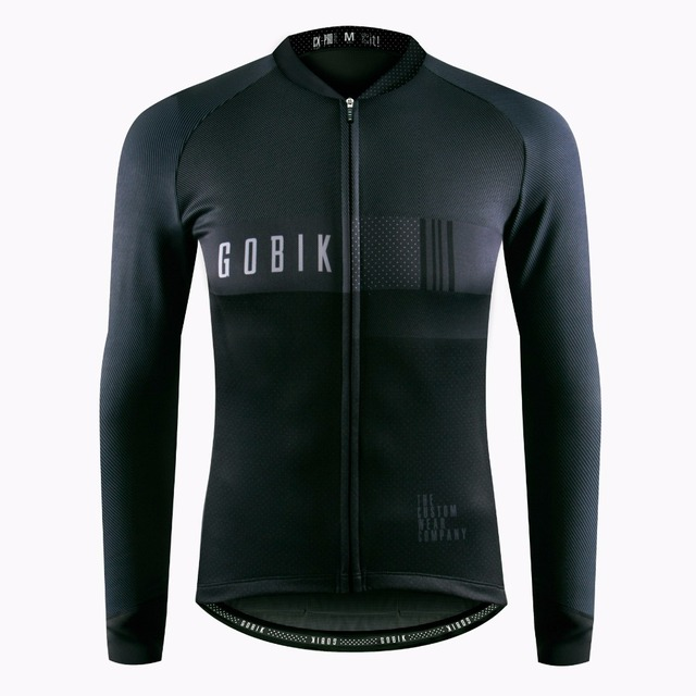 GOBIK 2018 autumn Top Quality Cycling Jersey Long Sleeve MTB Bicycle Cycling Clothing Mountain Bike Sportswear Cycling Clothes