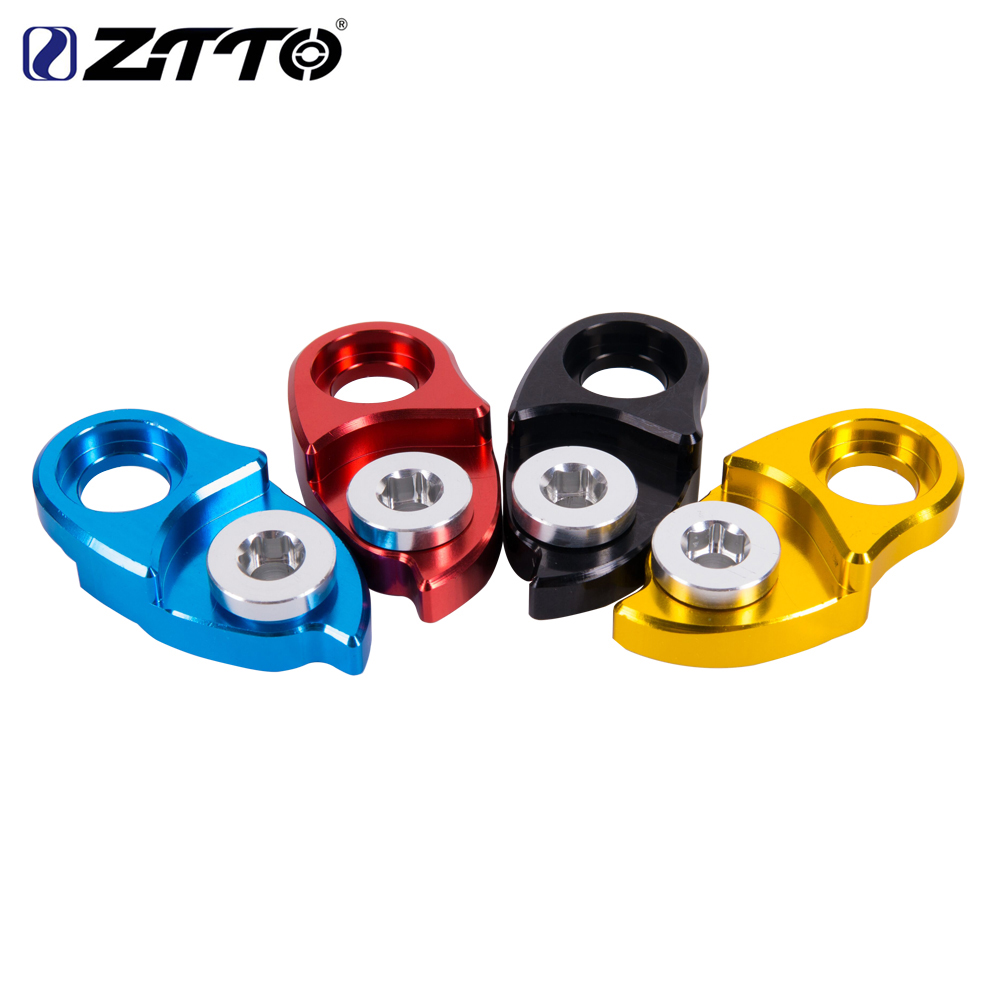 ZTTO MTB Mountain Bike Road Bicycle Rear Hanger Derailleur Extension Extender for Parts SUNRACE 11 42 46 Cassette Colorful ztto 11t mtb bicycle rear derailleur jockey wheel ceramic bearing pulley al7075 cnc road bike guide roller idler 4mm 5mm 6mm