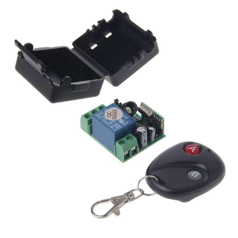 220V AC 10A Relay Receiver Transmitter Light Lamp LED Remote Control Switch Power Wireless ON OFF Key Switch Lock Unlock 433MHZ ac 220v wireless remote control switch 1ch relay module receiver transmitter led lamp light strips power remote control switch