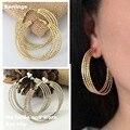 Earring Multi-storey wholesale ear clip ear earrings Korean fashion personality nightclubs no pierced ear clip female