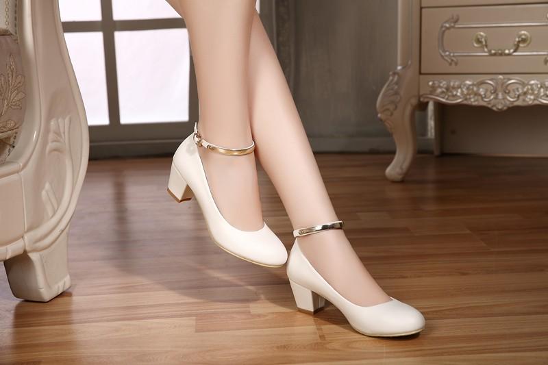 yalnn новый для женщин высокие кабель пос насосы свадебные туфли tasty кабель круглый носок кожа туфли на высоком парня для офиса для женщин
