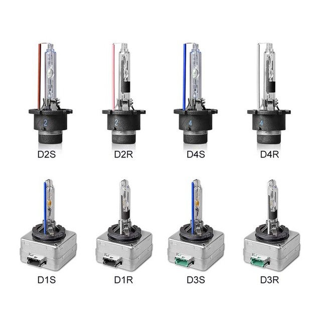 Pair Hid Bulb D1s D1r D2s D2r D3s D3r D4s D4r Car Xenon Hid Headlight Bulb Light 35w 3000k 4300k