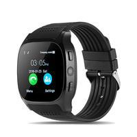 T8 Smartwatch 1.54 inch MTK6261D bluetooth Pedometer TF Card Extend GSM Smart Watch Phone PK M26 DZ09