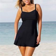Swimwear girl Women Plus Size Print Tankini Swimjupmsuit Swimsuit Beachwear Padded Swimwearbiquinis feminino 2019 padded strapless print plus size tankini set