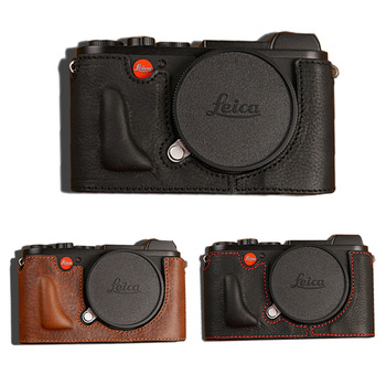 AYdgcam Brand Genuine Leather Camera Case Bag  For Leica CL  Handmade Half Body Bottom Cover