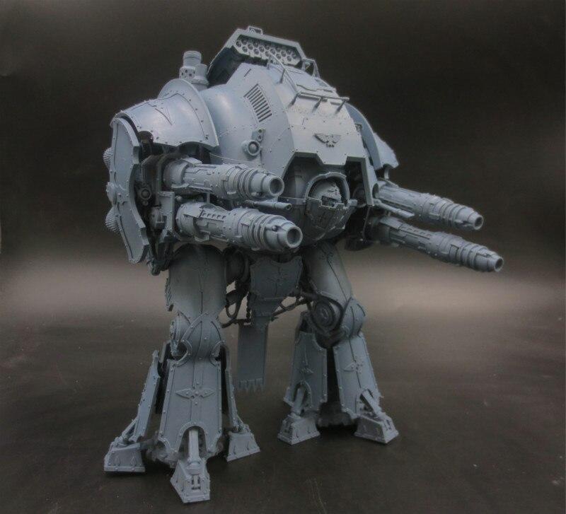 1/18 Scale Resin Figure Model Kit Giant Knight Porphyrion Static Modelling Assembly DIY Toys Hobby Tool D09