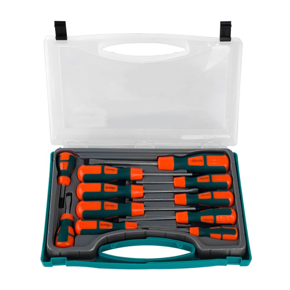 Screwdriver set Sturm! 1040-02-SS2 тестер напряжения sturm 1040 02 vt