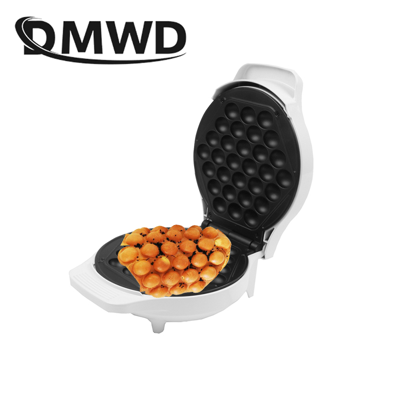DMWD Household electric eggs bubble egg waffle Maker DIY egg waffle machine puff cake pan waffle mold EU US plug original abstract art lines band for apple watch band 38mm 42mm leather for iwatch band series 1 2 3 gift for iphone case