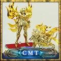 Insotck Ahora MetalClub EX Dios Leo Aioria Saint Seiya Myth Cloth Ex Oro metal armor Figura de Acción