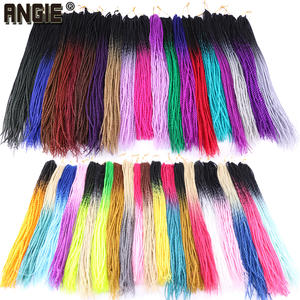Two Tone Ombre Senegalese Twist Hair Crochet 30 Roots/Pack for Women