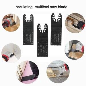 Image 3 - Newone 66 חבילה עץ מתכת נדנוד Multitool מהיר שחרור מסור להבי Fit לפיין שחור & Decker בוש אומן Dewalt