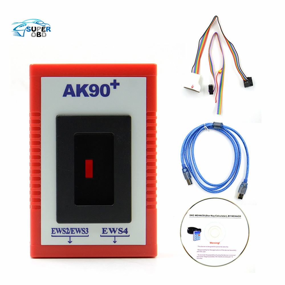 ФОТО Promotion AK90 Key Programmer AK90+ Pro Key Maker for BMW all EWS Version V3.19 key programmer free ship