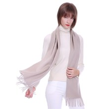 2018 Women Autumn Winter Scarf Pashmina Luxury Warm Solid Cashmere Fashion Female Multi-purpose Shawl 15 Colors