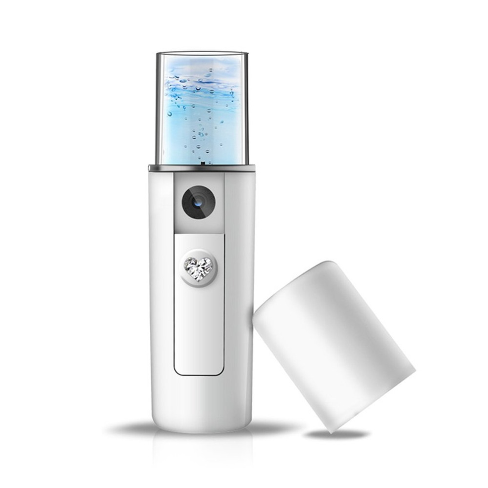 Увлажнение лица красота инструмент зарядка через usb портативный Nano туман спрей Handy распыления мистер устройства красота инструмент