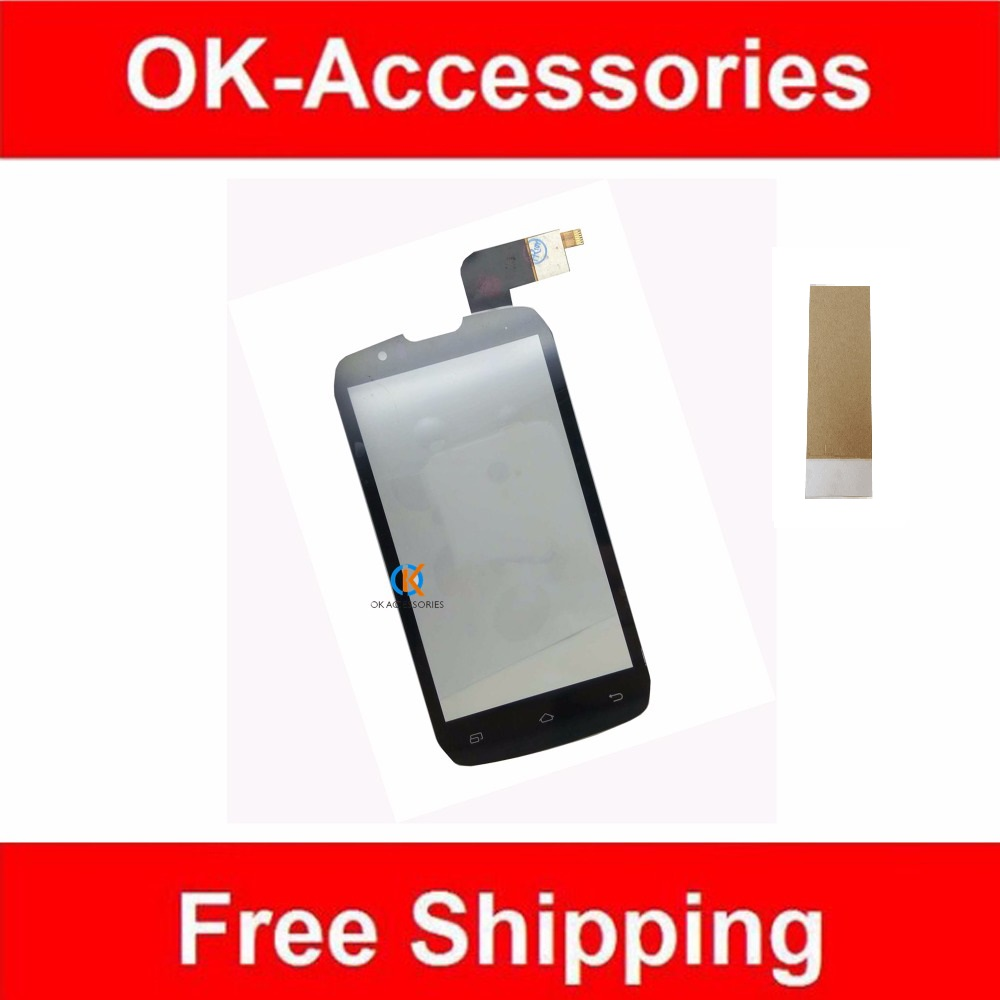 High Quality Black Color For Highscreen Boost FPC-2 <font><b>DNS</b></font> <font><b>S4502</b></font> Touch Screen Digitizer With Adhseive Tape 1PC/Lot . image