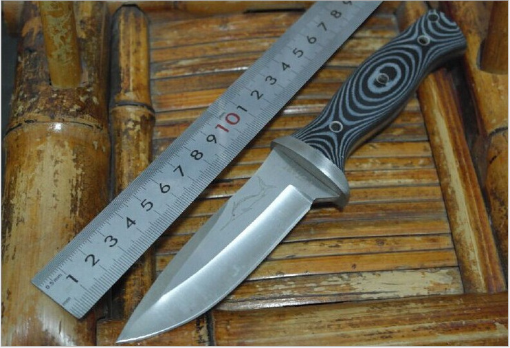 High quality Stainless steel Handle hunting font b knife b font camping pocket font b knife